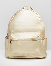 Daisy Street Metallic Backpack