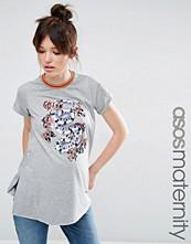 ASOS Maternity Floral Print T-shirt