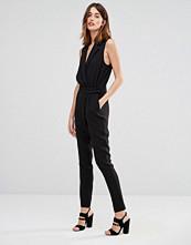 Vero Moda Wrap Front Tailored Jumpsuit