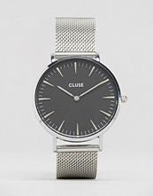 Cluse La Boh�me Black & Silver Mesh Watch CL18106
