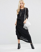 Free People Say You Love Me Maxi Dress With Lace Insert
