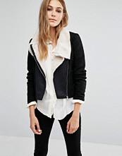 Vero Moda Calm Short Faux Leather Jacket