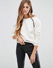 Maison Scotch Crew Neck Sweatshirt With Tape