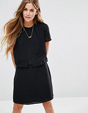 Maison Scotch Chic Dress With Sheer Layers