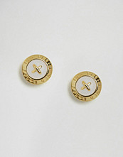 Ted Baker Enamel Mini Button Stud Earrings