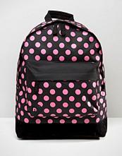Mi-pac Exclusive Hot Pink Polka Backpack