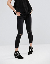 Free People Skinny Jeans With Rips