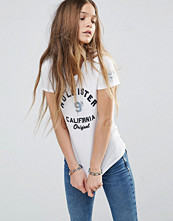 Hollister Logo Tee with Patches