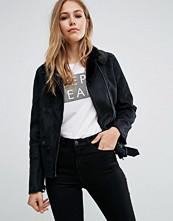 Pepe Jeans Tywin Faux Suede Biker Jacket