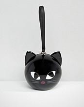 Lulu Guinness Kooky Cat Orb Clutch Bag