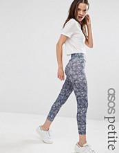 ASOS Petite Leggings in Sketchy Check