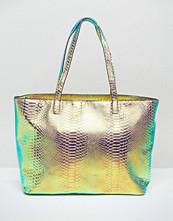 Skinnydip Comet Iridescent Tote Bag