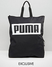Puma Exclusive To ASOS Square Backpack In Black