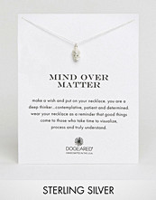Dogeared Sterling Silver Mind Over Matter Buddha Reminder Necklace