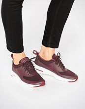 Nike Air Max Thea Trainers In Burgundy