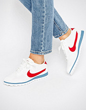 Nike Cortez Ultra Moire Trainers In Perforated Varsity Red And Blue