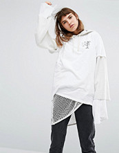 Obey Oversized Boyfriend Tee With Martini Girl Chest And Back Print