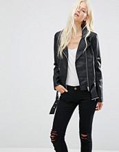 Minimum Bella Faux Leather Biker Jacket