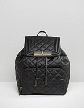ALDO Quilted Backpack With Front Pocket