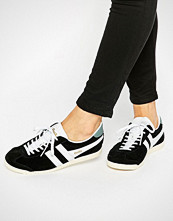 Gola Classic Bullet Trainers In Black & White