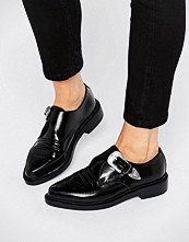 T.U.K T.U.K. Western Leather Point Flat Shoes