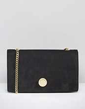 Ted Baker Suede Foldover Cross Body Bag