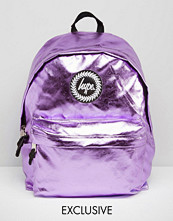Hype Exclusive Backpack in Metallic Baby Pink