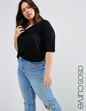 ASOS Curve T-Shirt Body in Rib