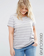 ASOS Curve Crew Neck T-Shirt In Stripe