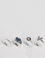 DesignB London Triangle Stacking Rings