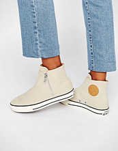 Converse High Line Beige Trainers