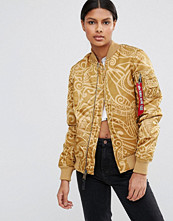 Alpha Industries MA-1 VF Tonga Print Bomber Jacket