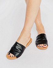 ASOS FIA Soft Leather Sliders