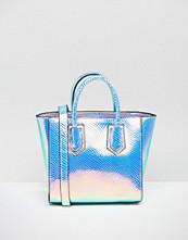 Skinnydip Mini Cosmo Iridescent Tote Bag
