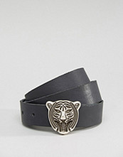Retro Luxe London Tiger Head Belt