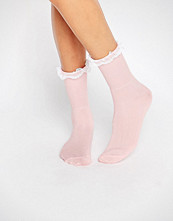 Gipsy Ruffle Top Socks