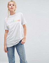 This Is Welcome Rainbow Classic Boyfriend T-Shirt