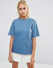 This Is Welcome Rip It Up Denim T-Shirt