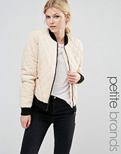 Vero Moda Petite Contrast Quilted Bomber Jacket