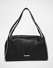 Love Moschino Shoulder Bag With Chain Strapd