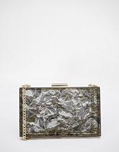 Love Moschino Lace Box Clutch