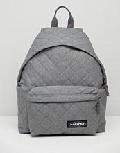 Eastpak Quilted Grey Backpack