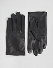 ASOS Leather Plain Gloves With Touch Screen
