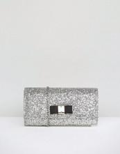 Carvela Glitter Clutch Bag With Bow