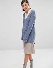 Fashion Union V Neck Knitted Jumper
