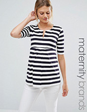 Isabella Oliver Striped Tunic Top
