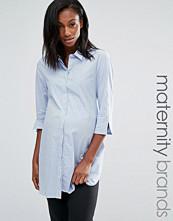 Isabella Oliver 3/4 Sleeve Waisted Shirt