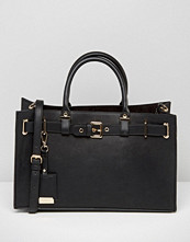 Carvela Tote Bag With Gold Hardwear