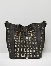 Yoki Fashion Eyelet Bucket Bag