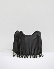 Yoki Fashion Fringed Cross Body Bag